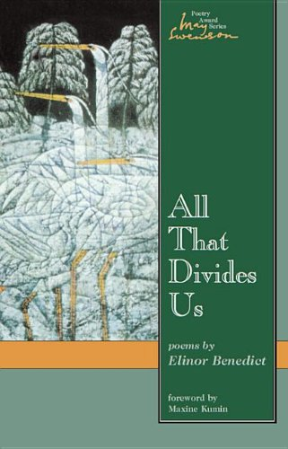 9780874213331: All That Divides Us : Poems (May Swenson Poetry Award Series)