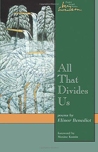 9780874214062: All That Divides Us: Poems (Swenson Poetry Award)
