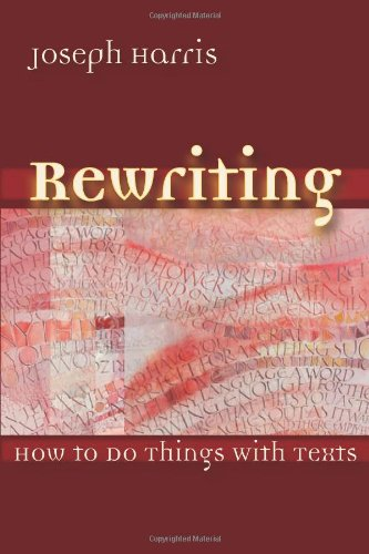 9780874216424: Rewriting: How To Do Things With Texts