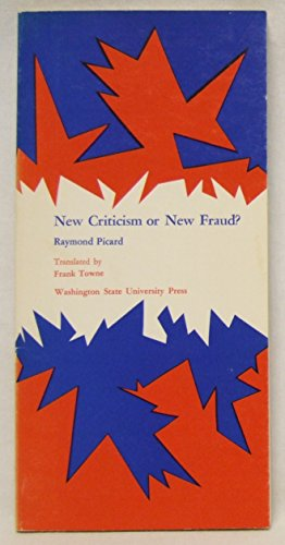 9780874220094: New Criticism or New Fraud