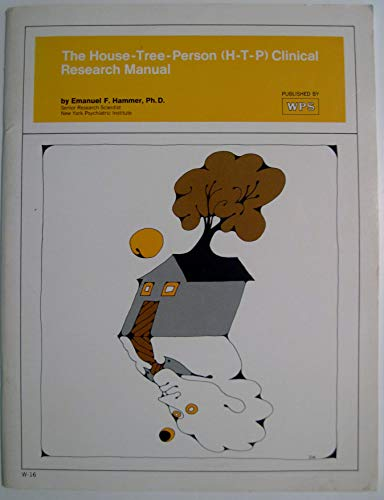 9780874240160: House Tree Person (H-T-P Clinical Research Manual)