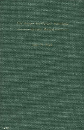House-Tree-Person Technique: Manual: John N. Buck