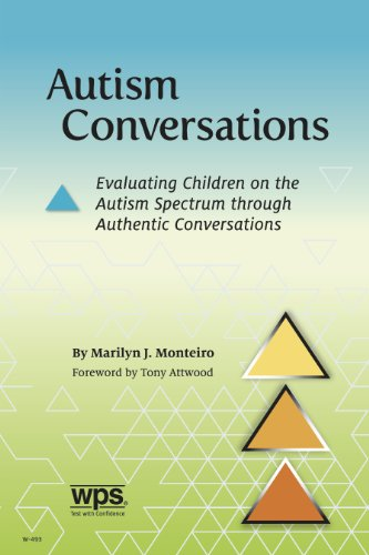 9780874244939: Autism Conversations: Evaluating Children on the Autism Spectrum through Authentic Conversations