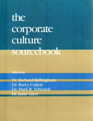 Corporate Culture Sourcebook: Bellingham, Richard