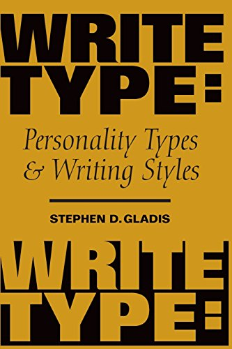 Writetype: Personality Types and Writing