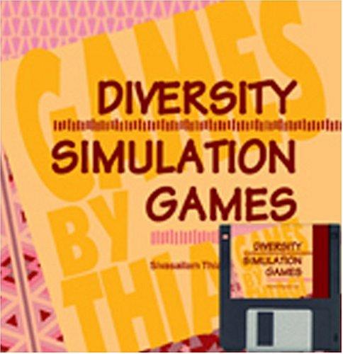 9780874252620: Diversity Simulation Games: Diversity Simulation Games: (Games by Thiagi Series) (Simgame)
