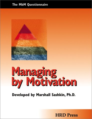 9780874253528: Managing by Motivation Assessment: Packet of 5