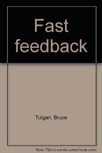 Fast feedback (0874254469) by Bruce Tulgan