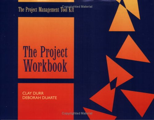 9780874254921: The Project Workbook (Packet of 5) [Project Management Tool Kit]