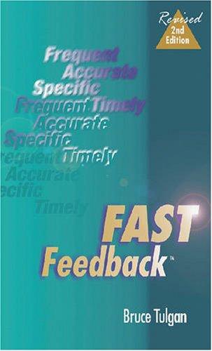 9780874254952: Fast Feedback, Second Edition