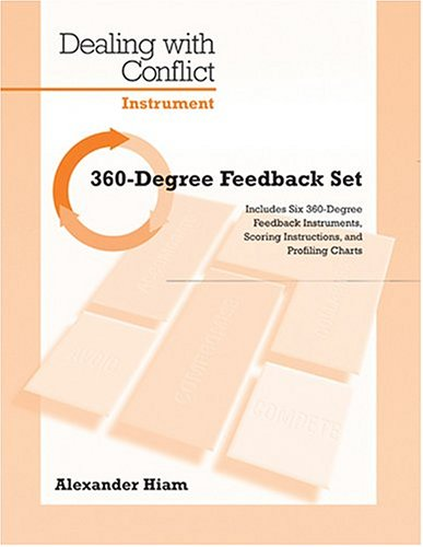 9780874255065: 360 Degree Feedback Set (Dealing with Conflict - Instrument)(Packet of 5)