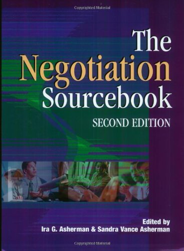 9780874256048: Negotiation Sourcebook-2nd Ed