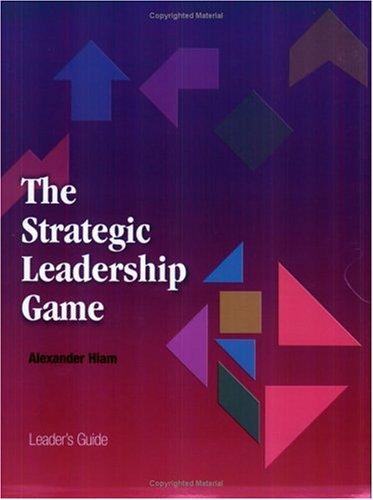 9780874257281: The Strategic Leadership Game
