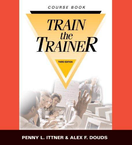 9780874257519: Train-The-Trainer