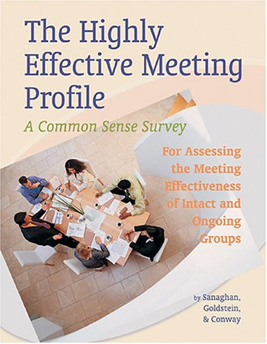 9780874257571: Highly Effective Meeting Profile: Packet of 5