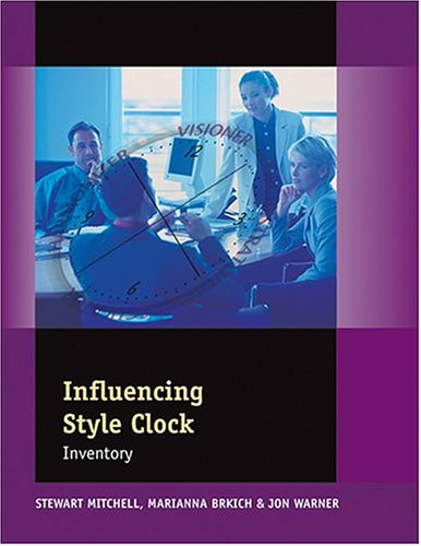 Influencing Style Clock Inventory (Packet of 5) (9780874257694) by Jon Warner