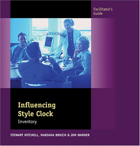 9780874257700: Influencing Style Clock, Facilitator's Guide