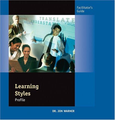 9780874258004: Learning Styles Profile (Facilitator's Guide)