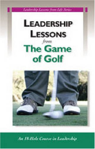 9780874258776: Leadership Lessons From Golf: 5 Pack (Llg)
