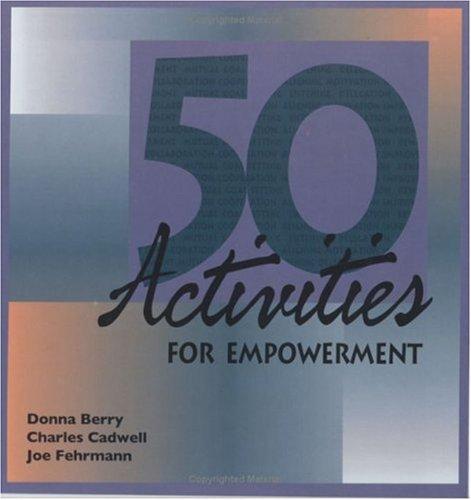 9780874259643: 50 Activities for Empowerment (50 Activities Series)