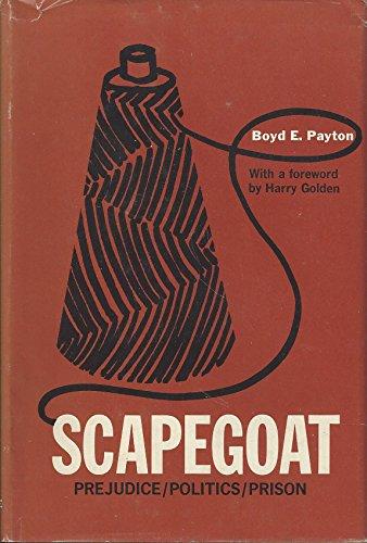 9780874260229: Scapegoat (1959 Harriett - Henderson, North Carolina Cotton Mills Strike)