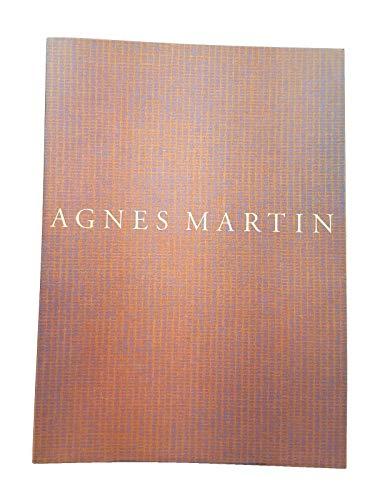 9780874270822: Agnes Martin