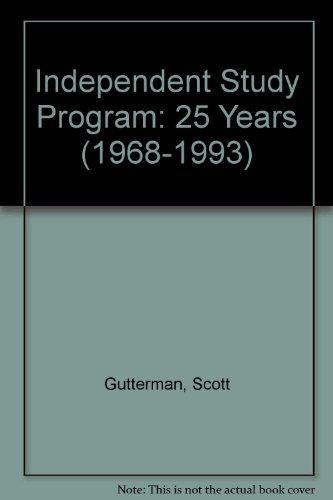 Independent Study Program: 25 Years (1968-1993): Scott Gutterman, Miwon Kwon