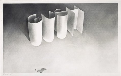 Cotton Puffs, Q-tips, Smoke and Mirrors: The Drawings of Ed Ruscha: Rowell, Margit, and Ed Ruscha; ...