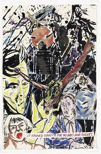 Turn to the title page: Pettibon, Raymond
