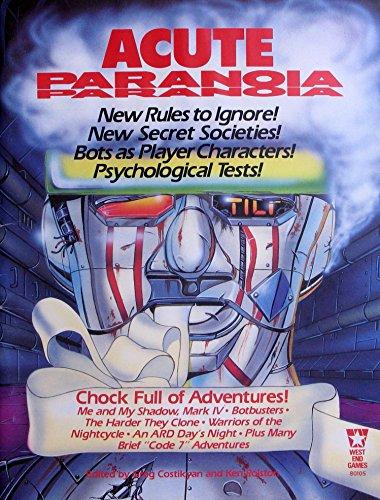 9780874310344: Acute Paranoia (Paranoia RPG)