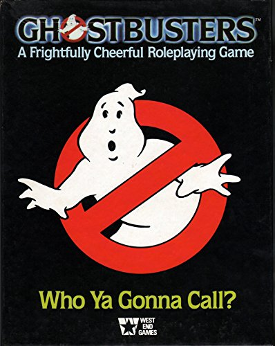 9780874310436: Ghostbusters: A Frightfully Cheerful Roleplaying Game [Box Set]