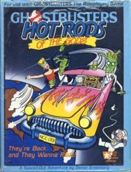 9780874310528: Hot Rods of the Gods (Ghostbusters RPG)