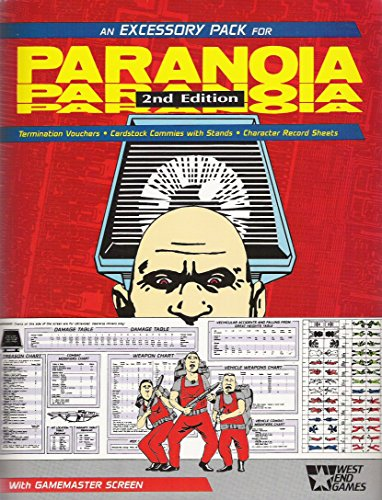 9780874310641: Paranoia Excessory Pack
