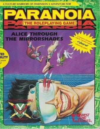 9780874311549: Alice Through the Mirrorshades (Paranoia/Cyberpunk)