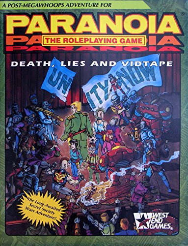 9780874311594: Death, Lies, Vidtape (Paranoia RPG)