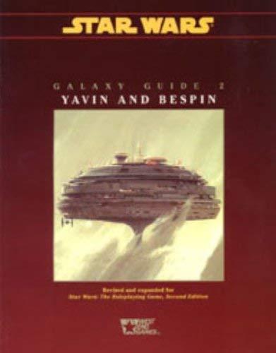 Galaxy Guide No 2: Yavin and Bespin: na