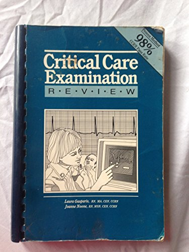 Critical Care Examination Review: Laura Gasparis, Joanne