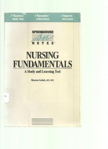 9780874341089: Nursing Fundamentals (Springhouse Notes)