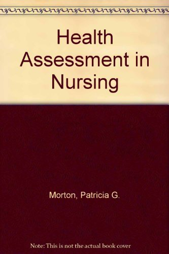 9780874341690: Health Assessment in Nursing