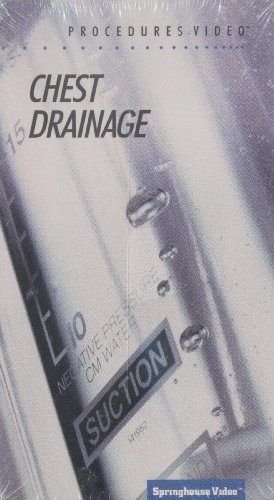 9780874343724: Chest Drainage [VHS] 1991