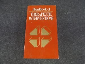 9780874344806: Handbook of Therapeutic Interventions