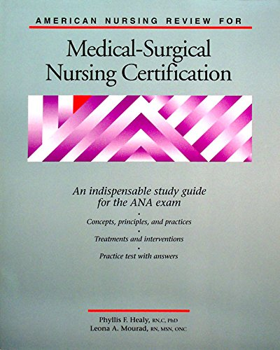 9780874345810: American Nursing Review for Medical-Surgical Nursing Certification