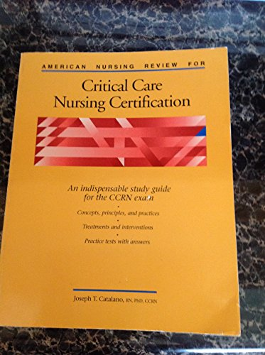 9780874346879: American Nursing Review for Critical Care Nursing Certification