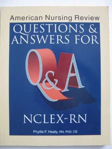 9780874346886: American Nursing Review: Questions & Answers for Nclex-Rn