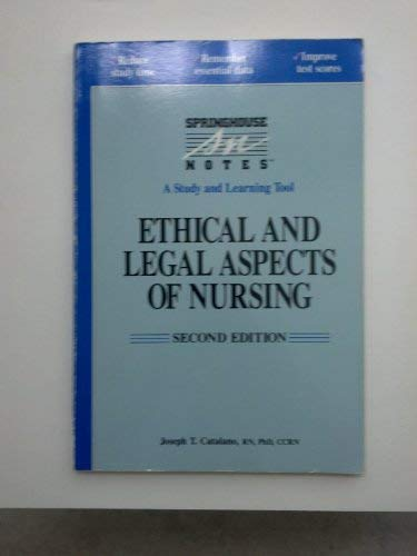 9780874347432: Ethical and Legal Aspects of Nursing (2nd ed)