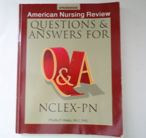 9780874348002: American Nursing Review Questions & Answers for Nclex-Pn