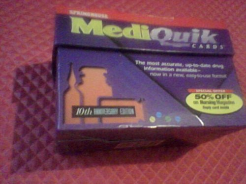 9780874348309: Mediquik Cards/Boxed