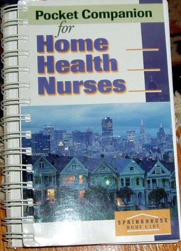 9780874348538: Pocket Companion for Home Health Nurses