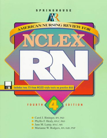 9780874349054: American Nursing Review for Nclex-Rn (SPRINGHOUSE REVIEW FOR NCLEX-RN)