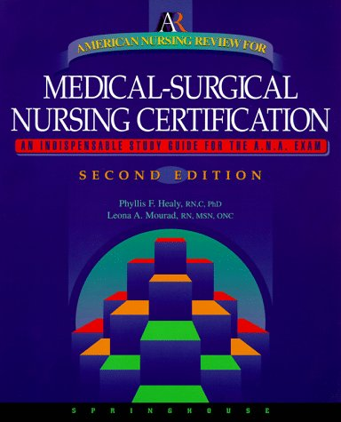 9780874349191: American Nursing Review for Medical-Surgical Nursing Certification